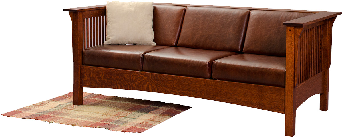 Amish Sofa And Furniture Outlet Sofa 2490 Leather Sofa Leathercraft Outlet Discount Your