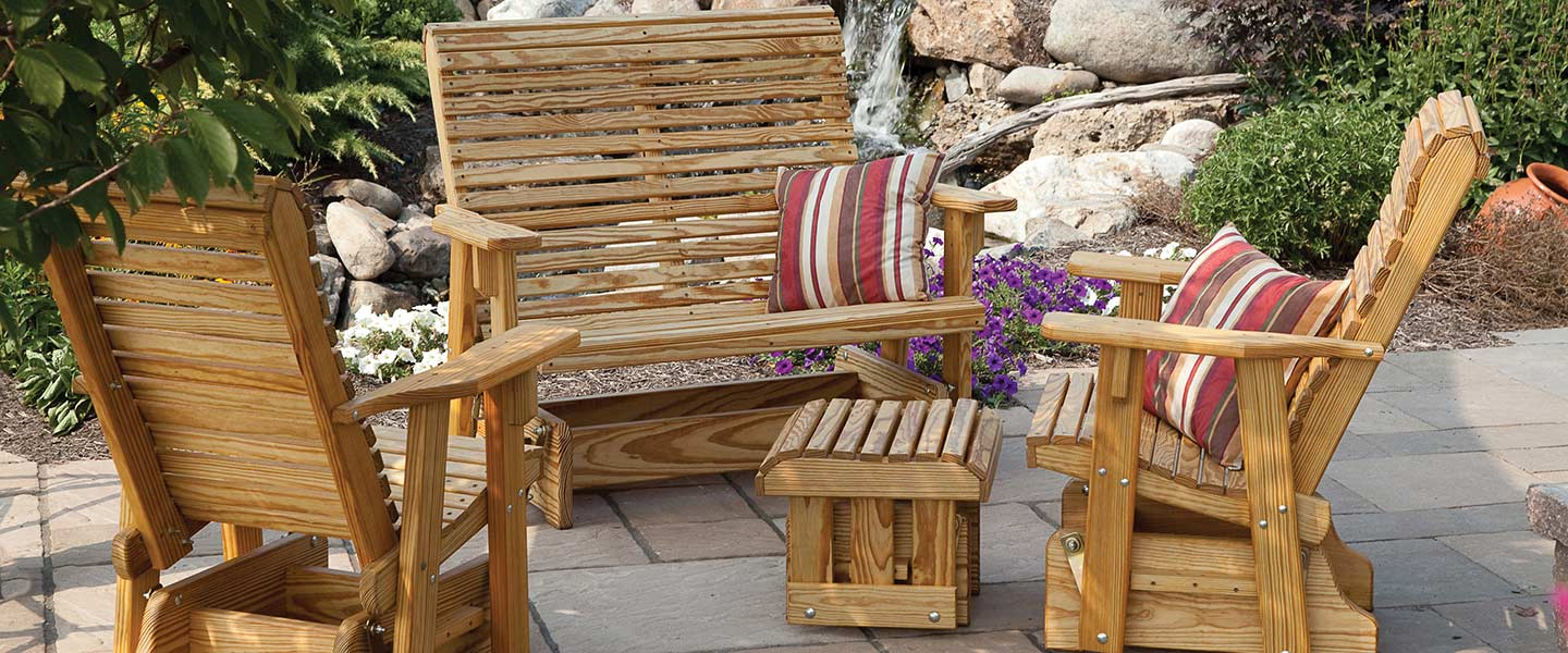 lawn patio furnitures